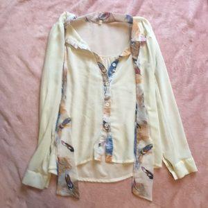 Tops - Fun pattern blouse